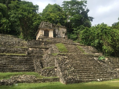 Palenque covered pyramid