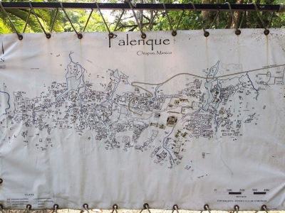 Zona Arqueológica Palenque mapa
