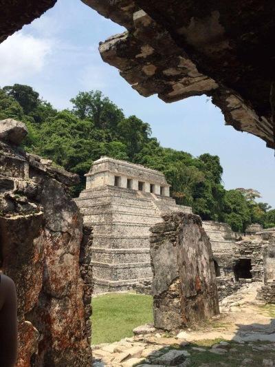 Pirámide en palenque